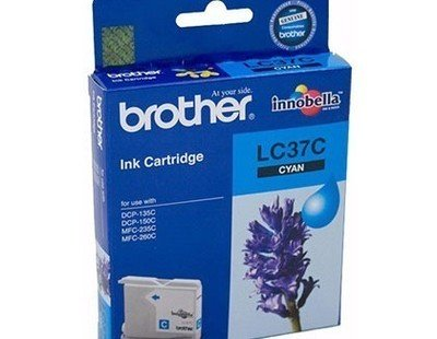 Brother LC37 Ink Cartridge, Cyan
