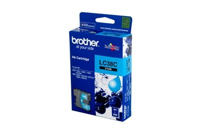 Brother LC38 Ink Cartridge, Cyan
