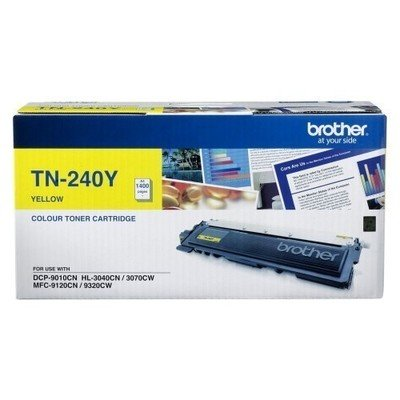 Brother TN-240 Yellow Toner Cartridge