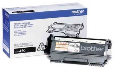 Brother TN 450 Toner Cartridge, Black