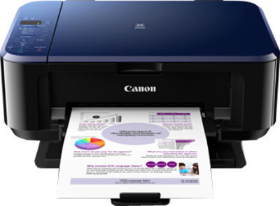 Canon E510 Color All in One Inkjet Printer, PSC
