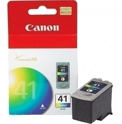Canon 41 Ink Cartridge, Tri Color