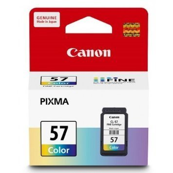 Canon 57 Ink Cartridge, Tri Color