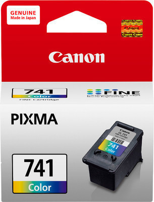 Canon 741 Ink Cartridge, Tri Color