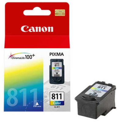 Canon 811 Ink Cartridge, Tri Color, 9ml