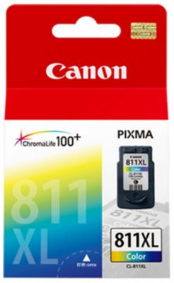 Canon 811XL Ink Cartridge, Tri Color, 13ml