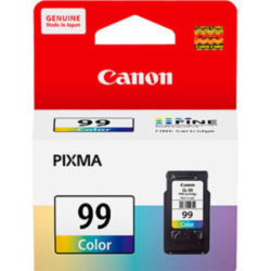 Canon 99 Ink Cartridge, Tri Color