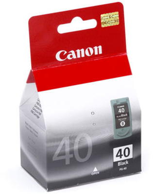 Canon 40 Ink Cartridge, Black