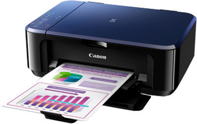 Canon E560 Color All in One Inkjet Printer, PSC, D, W