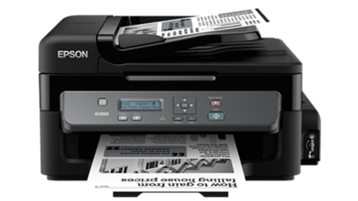 Epson M200 Mono All-in-One Ink Tank Printer, PSC, Adf, N