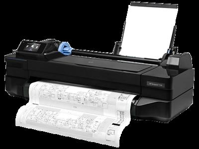 HP Designjet T120 Inkjet Large Format Printer, CQ891C