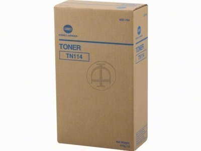 Konica Minolta TN114 Black Toner Bottle
