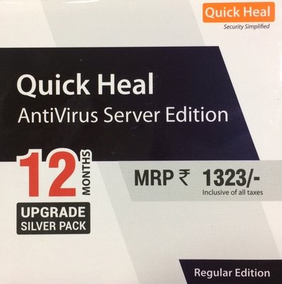 Renewal, 1 Server, 1 Year, Quick Heal Server Edition