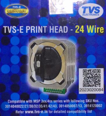 TVS MSP 355/455 Dotmatrix 24W T15 Printhead