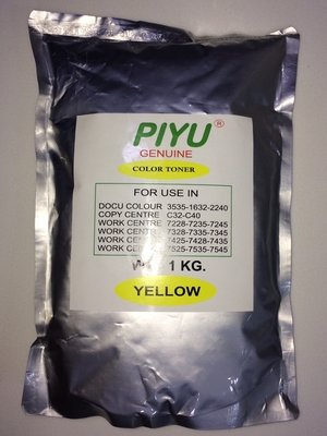 Piyu 1-KG Yellow Toner for Xerox