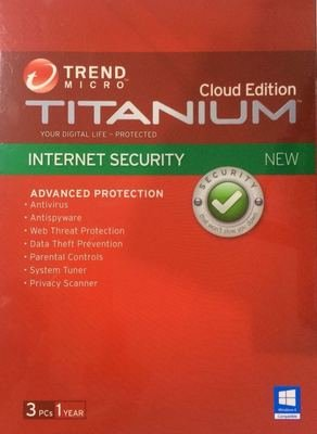 3 User, 1 Year, Trend Micro Internet Security