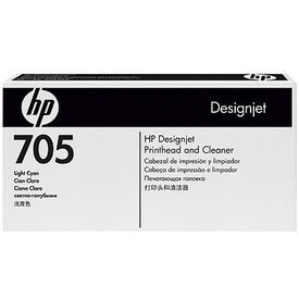 HP 705 Light Cyan & Cleaner Printhead, CD957A