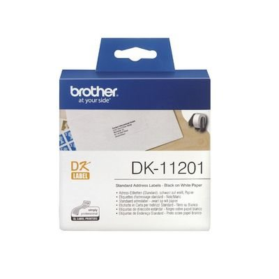 Brother DK11201 Standard Address Label, 29mm X 90mm X 400pcs