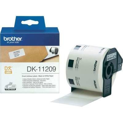 Brother DK11209 Small Address Label, 62mm X 29mm X 800pcs