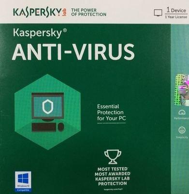 1 User, 1 Year, Kaspersky Antivirus