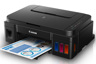 Canon G3000 Color Ink Tank Printer, PSC, Wifi