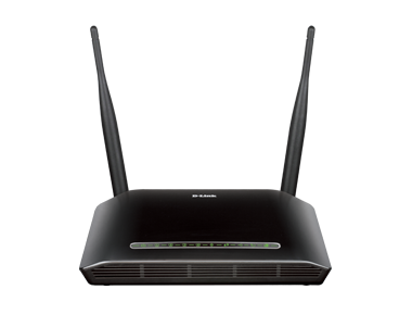 D-Link DSL-2750U Wireless N 300 ADSL2 &4 Port Router