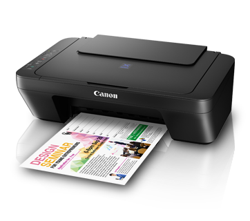 Canon E410 Color All in One Inkjet Printer, PSC