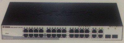 D-Link 24-Port 10/100/1000Mbps Smart Switch, DGS-1210-28
