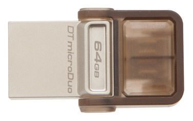 Kingston 64GB OTG Pen Drive, 2.0, duo