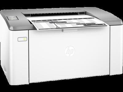 HP M106w Black on White Single Function Laser Printer