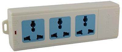 Bull 3 Sockets Rewireable Convenient Board