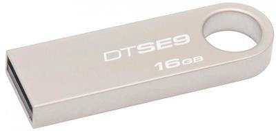 Kingston 16GB Pen Drive, 2.0, SE9, Metal