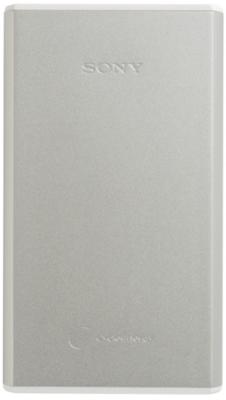 Sony 15000mAh Li-ion Polymer Power Bank, Silver