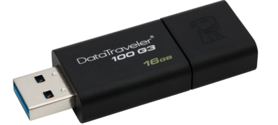 Kingston 16GB Pen Drive, 3.0, DT100