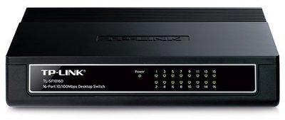 TP-Link 16-Port 10/100Mbps Desktop Switch, SF1016D