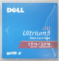Dell LTO 5 Ultrium Data Cartridge, 1.5TB