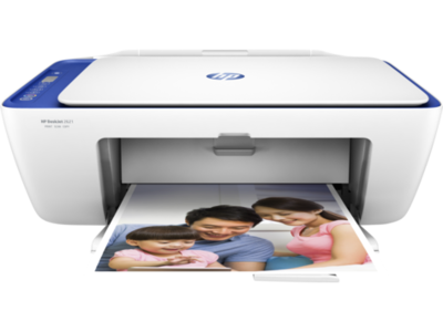 HP 2621 Color All in One Inkjet Printer, PSC, Wifi