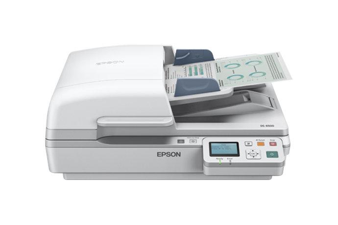 Epson WorkForce DS-6500 Color Document Scanner (Duplex|ADF) 880685 HSN:8471