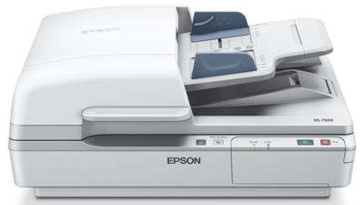 Epson WorkForce DS-7500 Flatbed Document Scanner, Duplex, ADF