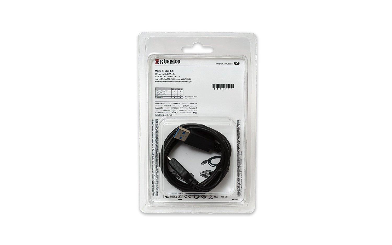 Kingston USB 3.0 Card Reader, FCR-HS4