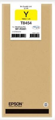 Epson T8454 Yellow Ink Cartridge 3004 HSN:32151190
