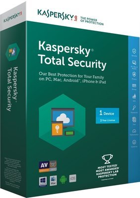 1 User, 3 Year, Kaspersky Total Security