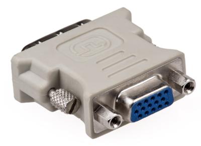 Haze DVI-I Dual Link to VGA Coupler Converter, 24+5 Pin