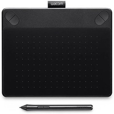Wacom CTH-490 / KO-CX Pen and Touch Tablet, Black
