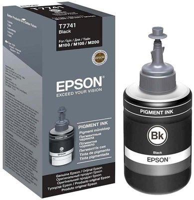 Epson ink Bottle, T7741, Black