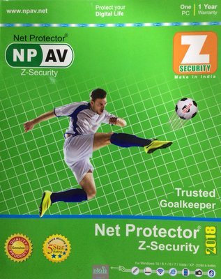 Net Protector Z Security, 2019, 1 User, 1 Year