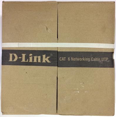 D-Link 100 Meter Cat 6 Networking Cable UTP Outdoor, Grey