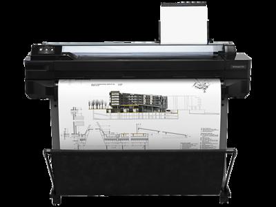 HP DesignJet T520 36-in, 914-mm, Printer, CQ893C
