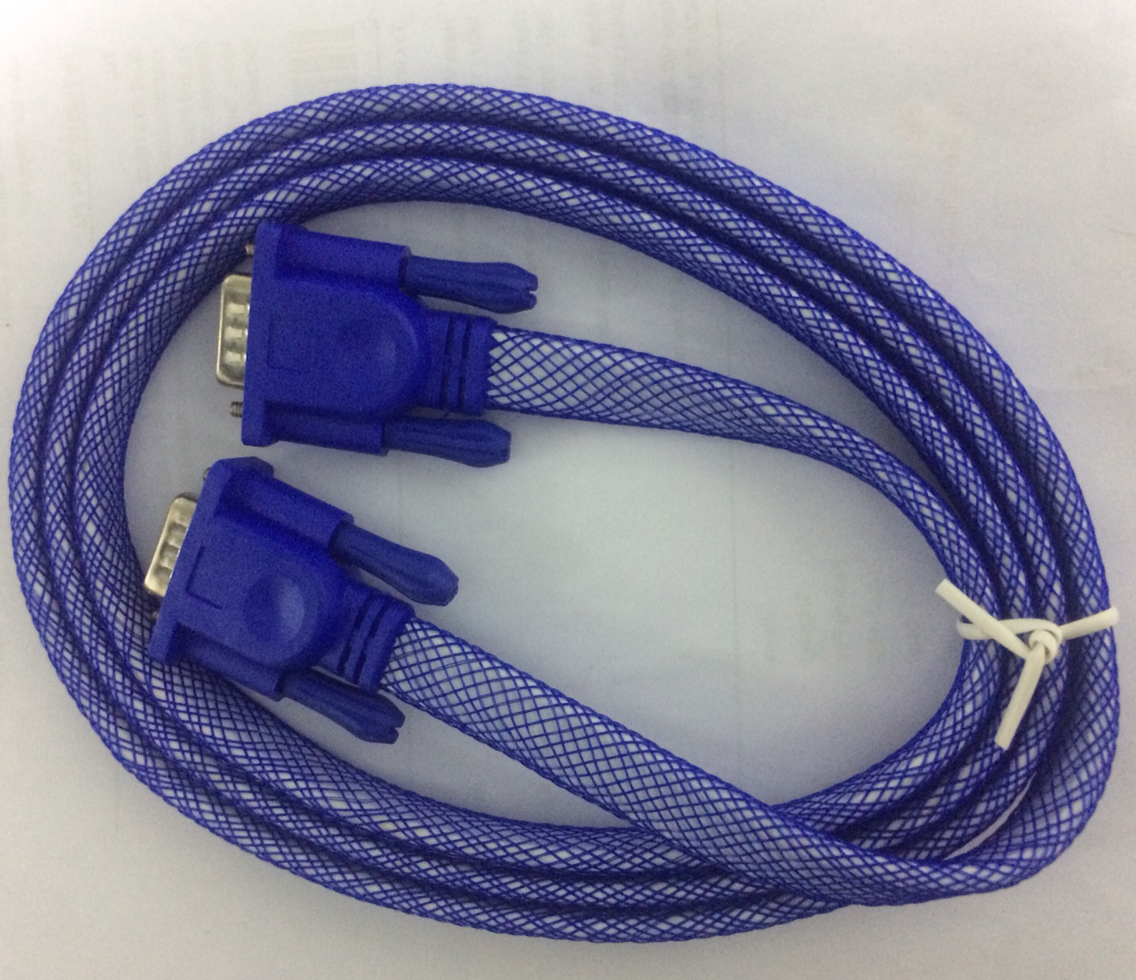 Haze 1.5 Meter VGA Flat Net Coated Cable 3031 HSN:85444900