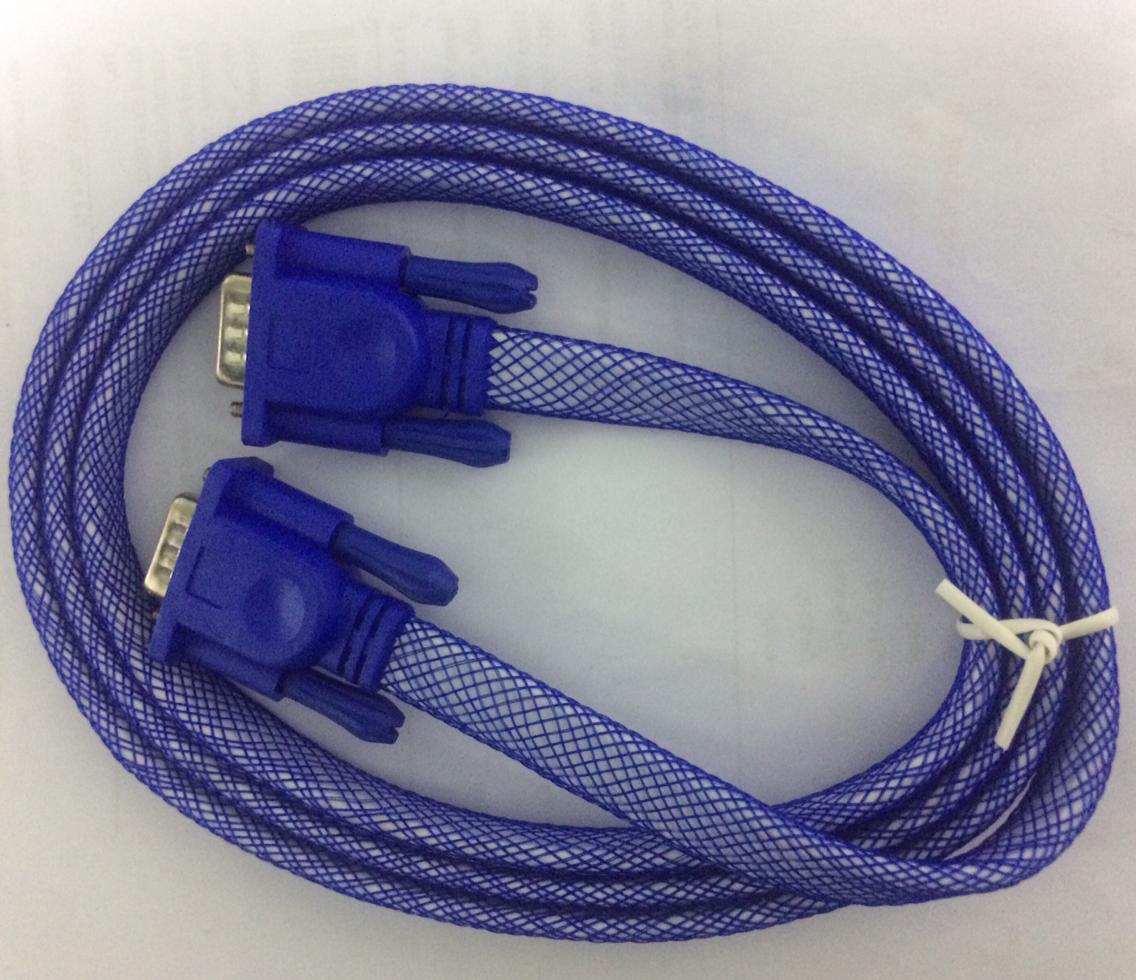 Haze 3 Meter VGA Flat Net Coated Cable 880735 HSN:85444900
